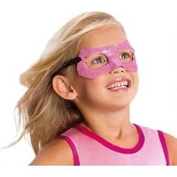 Supergirl Glitter Mask