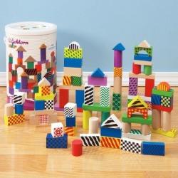 Wooden Multicolor Blocks