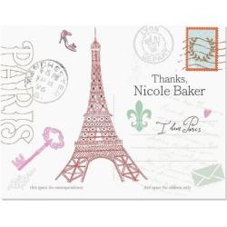 Paris Thank You Card