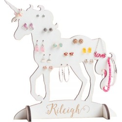 Personalized Unicorn Jewelry Stand found on Bargain Bro India from Lillian Vernon for $34.99