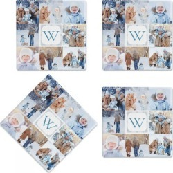 Gallery 8 Photo Coasters found on Bargain Bro India from Lillian Vernon for $21.99