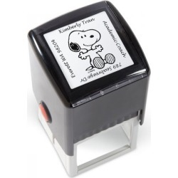 PEANUTS® Square Address Stamp found on Bargain Bro India from Lillian Vernon for $19.99