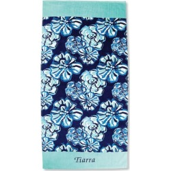 Personalized Maliblue Towel found on Bargain Bro India from Lillian Vernon for $29.99