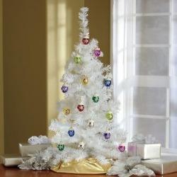 Tree & 2 Sets Of Ornaments