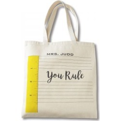 You Rule Teacher Tote found on Bargain Bro India from Lillian Vernon for $17.99