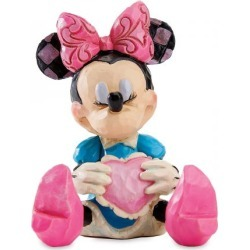 Mini Minnie Mouse Figurine by Jim Shore found on Bargain Bro India from Lillian Vernon for $18.99