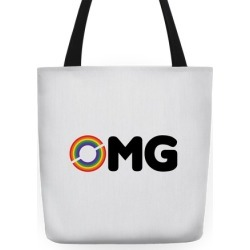 OMG Tote Tote Bag from LookHUMAN