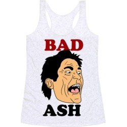 Bad Ash Couples Shirt Racerback Tank from LookHUMAN