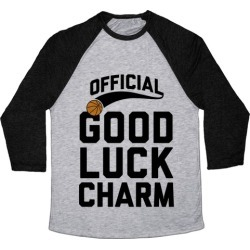 Basketball Good Luck Charm Baseball Tee from LookHUMAN