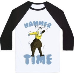 Hammer Time! Baseball Tee from LookHUMAN