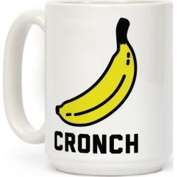 Cronch Banana Meme Mug from LookHUMAN