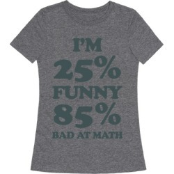 Funny/Math Ratio T-Shirt from LookHUMAN
