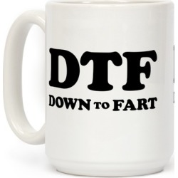 Down To Fart Mug from LookHUMAN