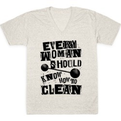 Every Woman Should Know How to Clean V-Neck T-Shirt from LookHUMAN
