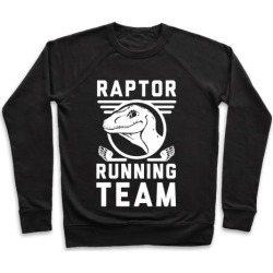 Raptor Running Team Pullover from LookHUMAN