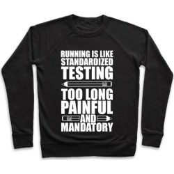 Running is like Testing Pullover from LookHUMAN