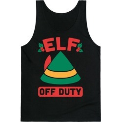 Elf Off Duty Tank Top from LookHUMAN