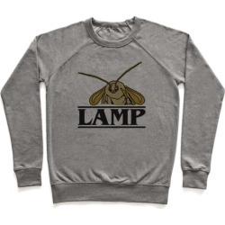 Lamp Moth Stranger Things Parody Pullover from LookHUMAN
