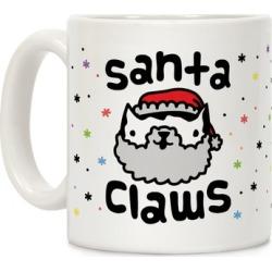 Santa Claws Mug from LookHUMAN