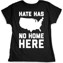 Hate Has No Home Here T-Shirt from LookHUMAN found on Bargain Bro Philippines from LookHUMAN for $21.99