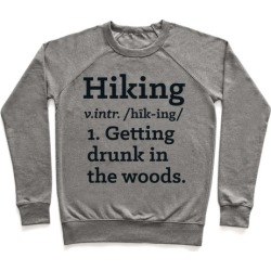 Hiking Definition Pullover from LookHUMAN
