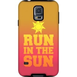 Run In The Sun Phone Case from LookHUMAN found on Bargain Bro from LookHUMAN for USD $21.27