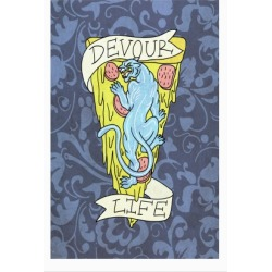 Devour Life Poster from LookHUMAN found on Bargain Bro Philippines from LookHUMAN for $15.00
