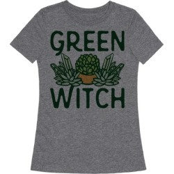 Green Witch T-Shirt from LookHUMAN found on Bargain Bro Philippines from LookHUMAN for $25.99