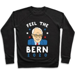 Feel the Bern 2020 Pullover from LookHUMAN