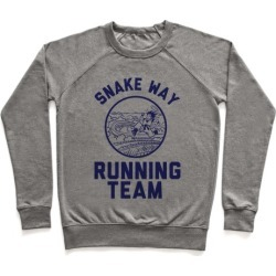 Snake Way Running Team Pullover from LookHUMAN
