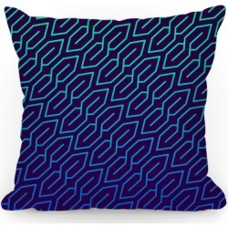 Super S (Minty) Throw Pillow from LookHUMAN found on Bargain Bro Philippines from LookHUMAN for $29.99