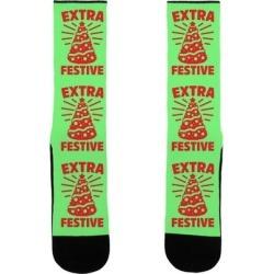 Extra Festive Socks from LookHUMAN
