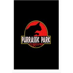 Purrassic Park Poster from LookHUMAN