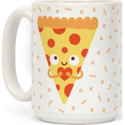 Pizza My Heart Mug from LookHUMAN found on Bargain Bro from LookHUMAN for USD $13.67