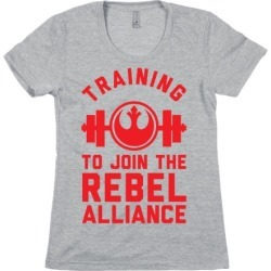 Training To Join The Rebel Alliance T-Shirt from LookHUMAN found on Bargain Bro Philippines from LookHUMAN for $21.99