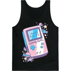 Game Girl - Trans Pride Tank Top from LookHUMAN
