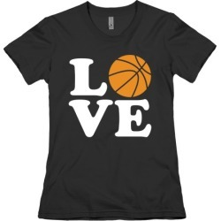 Love Basketball T-Shirt from LookHUMAN
