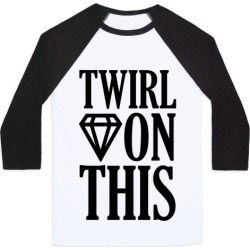 Twirl On This Baseball Tee from LookHUMAN