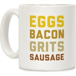 Eggs, Bacon, Grits, Sausage Mug from LookHUMAN