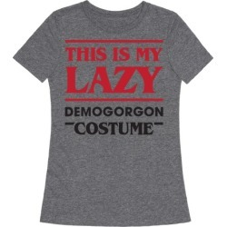 This Is My Lazy Demogorgon Costume T-Shirt from LookHUMAN