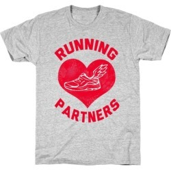 Running Partners T-Shirt from LookHUMAN