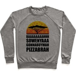 Gonna Buy Mah Pizza Brah Pullover from LookHUMAN