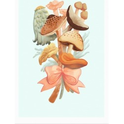 Bouquet Of Mushrooms Poster from LookHUMAN