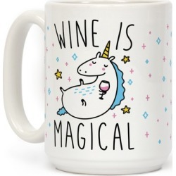 Wine Is Magical Mug from LookHUMAN