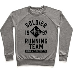 Soldier Running Team Pullover from LookHUMAN