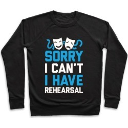 Sorry I can't I have Rehearsal Pullover from LookHUMAN
