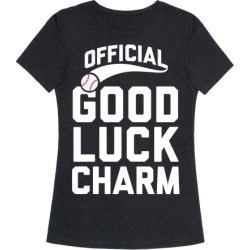 Baseball Good Luck Charm T-Shirt from LookHUMAN