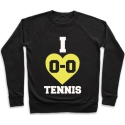 I 0-0 Tennis Pullover from LookHUMAN