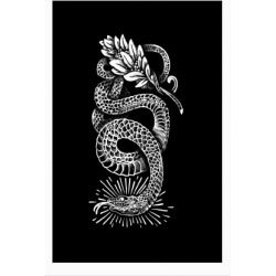 Laurel Snake Poster from LookHUMAN found on Bargain Bro Philippines from LookHUMAN for $30.00
