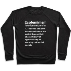 Ecofeminism Definition Pullover from LookHUMAN